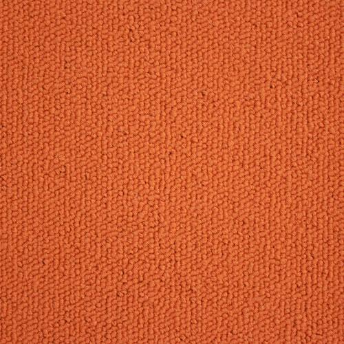Emphasis Orange Orange Contract Carpet Tile Loop Pile Cut
