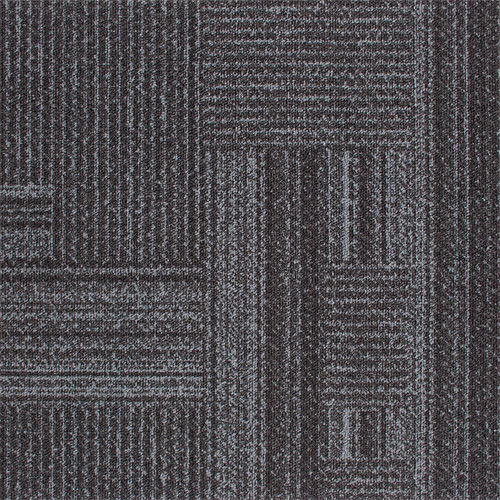 Times Square grey contract carpet tile 100% Nylon Type 6.6 loop pile 85% Recycled Content ...
