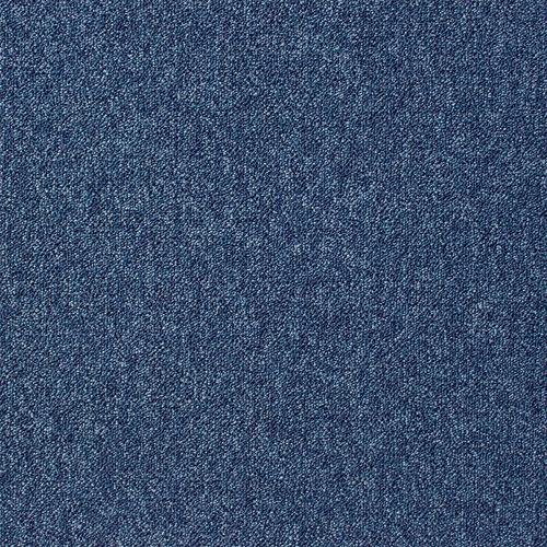 Latour Scafell Blue Contract Carpet Loop Pile Carpet Tile