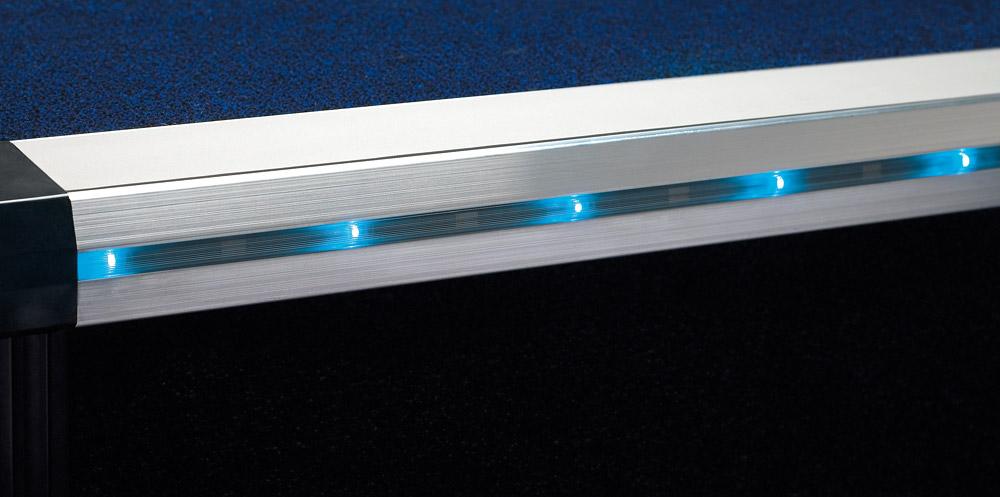 Led aluminium stair edgings gradus contract interior - Led skirting board lighting ...