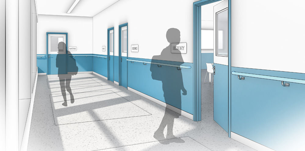 Door Edge & Frame Protection | Gradus - contract interior solutions