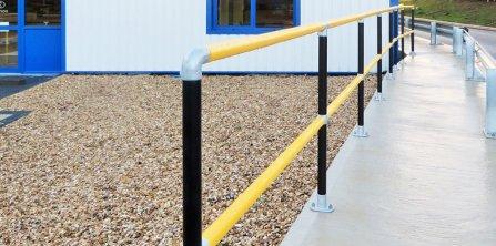 50mm Sleeved Steel Handrail System
