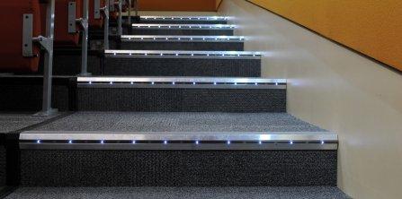 Balisage des marches à base de LED