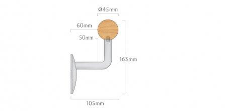 450 Timber Handrail