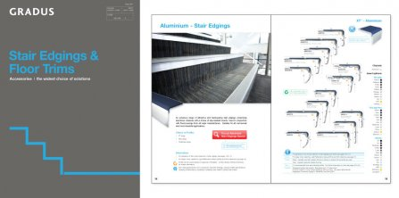 New Stair Edgings and Floor Trims Catalogue