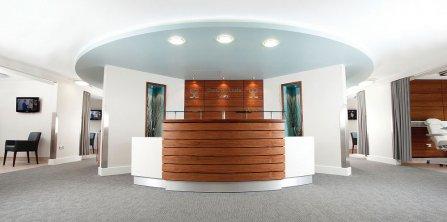 Cityscene carpet tiles at Spire hospital in Southampton