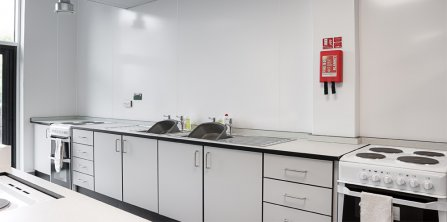 Gradus Improves Interiors at Bitterne Park School