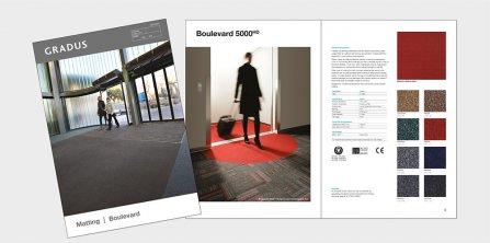 New Boulevard Secondary Barrier Carpet Folder