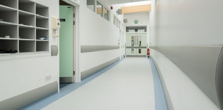 Gradus is best in class with wall protection solutions at the University of Live