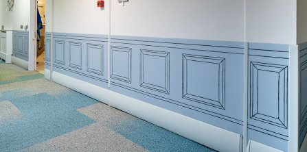 Gradus provides bespoke wall protection for residential respite centre