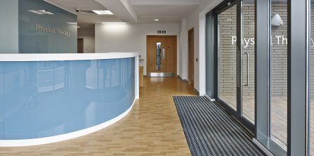 Specialist Interior Solutions for Healthcare from Gradus