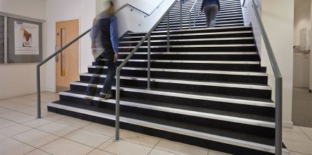Gradus' Smart Stair Edging Solutions at The University of Manchester