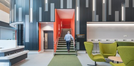 Gradus makes the grade for interior solutions at the University of Hull