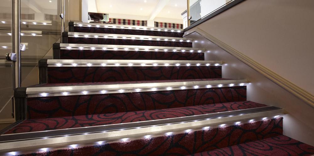 Lighting Basement Washroom Stairs: Gradus - Contract Interior Solutions